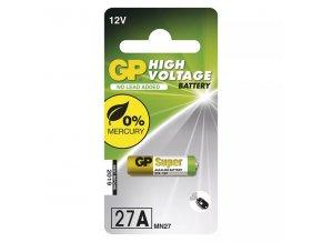 Baterie speciální alkalická, 27A, MN27, 12V, GP, blistr, 1-pack, speciální