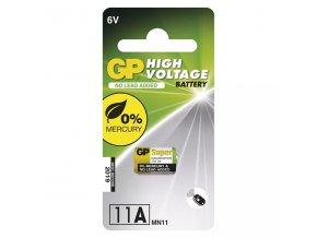 Baterie speciální alkalická, 11AF, 6V, GP, blistr, 1-pack, speciální