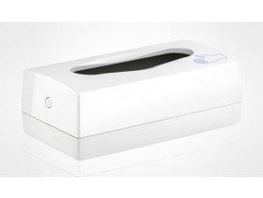 """Zásobník - stolní - na rukavice a ručníky skládané """"ZZ"""", plast, bílý"""