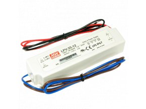 LPV-35-12V Meanwell LED DRIVER IP67, 8595209946911