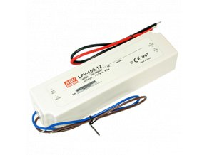 LPV-100-12V Meanwell LED DRIVER IP67, 8595209946966