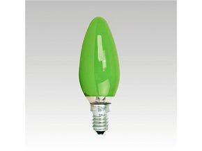 AKF 240V 25W/017 E14 GREEN, 4014501029077