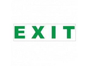Piktogram EXIT ( SONJA) 260x70mm, 8595209934543