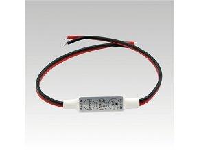 LED manuální jednobarevný ovladač DC5-24V 1x8A, 8595209916273