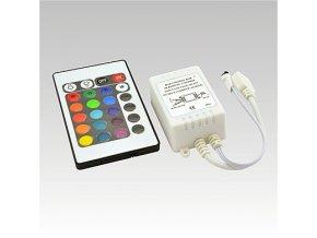 LED IR RGB controller DC12V 3x2A+24 tlač. klávesnice, 8595209916358