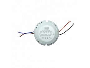LED Round type driver SINGLE 12-18-24W GALAXY