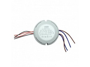 LED Round type driver DOUBLE 18/24W (40W) GALAXY