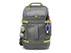 """Batoh na notebook 15,6"""", Odyssey Sport Backpack, šedo-zelený z polyesteru, HP"""