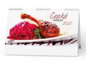 Kalendář 22S/BSD6 Česká vařečka 14-denní  300x150