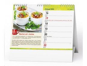 Kalendář 22S/BSD7 Hrníčková kuchařka  210x150