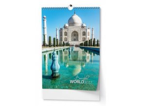 Kalendář 22N/BNF6  Beautiful world  320x450