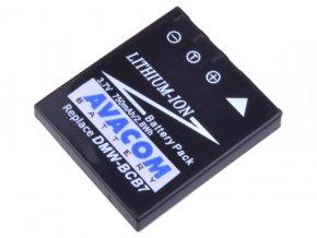Panasonic CGA-S004, DMW-BCB7 Li-Ion 3.7V 750mAh 2.8Wh
