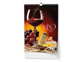 Kalendář 22N/BNF1 Víno  320x450