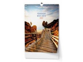 Kalendář 22N/BNF5  Pohádková místa světa  320x450
