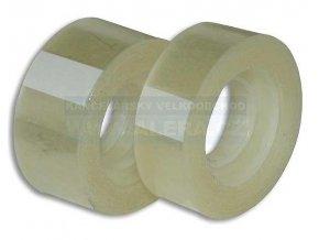 Páska lepicí 15x33m transparentní CONCORDE sáček /10ks