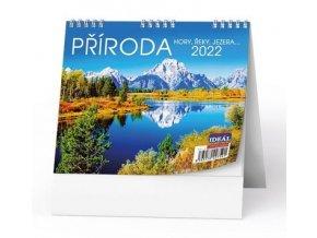 Kalendář 22S/BSL5 Příroda, hory, řeky, jezera...  165x135