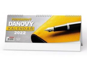 Kalendář 22S/BSC10 Poznámkový daňový kalendář 285x104