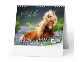 Kalendář 22S/BSL8 Koně  165x135