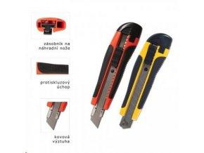 Nůž ulamovací velký s vodicí lištou plastový - blistr