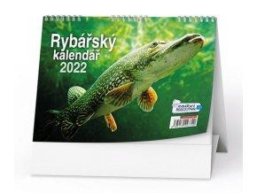 Kalendář 22S/BSC6 Rybář  210x150