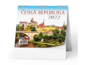 Kalendář 22S/BSL2 Česká republika  165x135