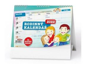 Kalendář 22N/BSI1 Rodinný stolní žánrový
