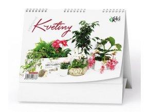Kalendář 22S/BSC7 Pokojové květiny  210x150