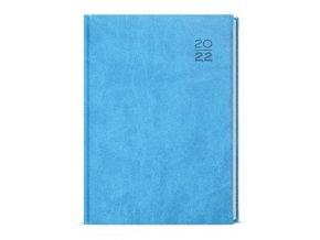Diář.22 BTJ6-11 Jakub - vivella  kapesní týdenní  75x150 světle modrá
