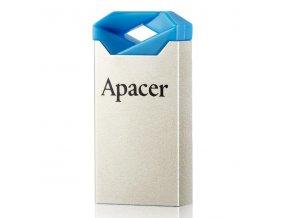 Apacer USB flash disk, USB 2.0, 16GB, AH111, modrý, AP16GAH111U-1, USB A