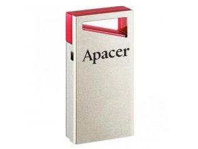 Apacer USB flash disk, USB 2.0, 16GB, AH112, stříbrný, AP16GAH112R-1, USB A