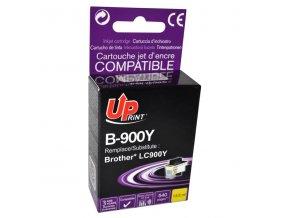 UPrint kompatibilní ink s LC-900Y, yellow, 13,5ml, B-900Y, pro Brother DCP-110C, MFC-210C, 410C, 1840C, 3240C, 5440CN