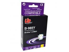 UPrint kompatibilní ink s LC-985Y, yellow, 12ml, B-985Y, pro Brother DCP-J315W