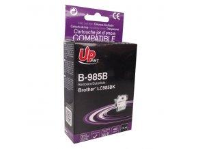 UPrint kompatibilní ink s LC-985BK, black, 15ml, B-985B, pro Brother DCP-J315W