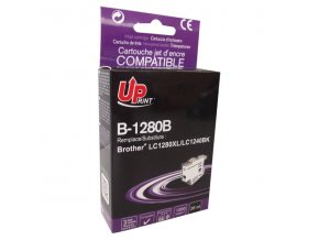 UPrint kompatibilní ink s LC-1280XLBK, black, 1200str., 26ml, B-1280B, high capacity, pro Brother MFC-J6910DW