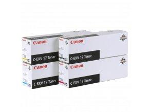 Canon originální toner CEXV17, magenta, 36000str., 0260B002, Canon iR-C4x80i