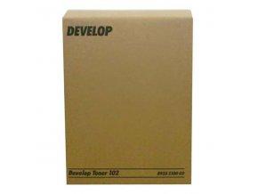 Develop originální toner 8935 2100 01, black, 12000str., 102, Develop 1501, 1800, 2150,  EP-1052, 1083, 2010, 2x240g, O