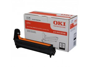 OKI originální válec 44318508, black, 20000str., OKI C711