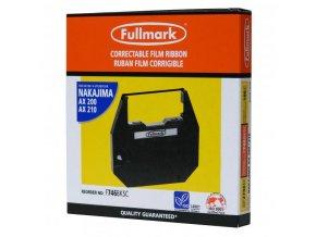 Páska pro psací stroj pro Nakajima AX 160, 200, 300, 500, 60, EW 310, 1000, černá, fóliová, PK143, F