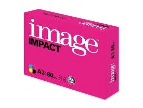 Xerografický papír Image, Impact A3, 80 g/m2, bílý, 500 listů, spec. pro barevný laserový tisk