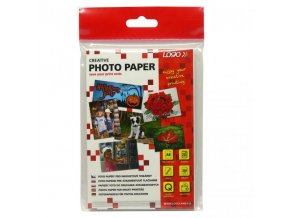 """Logo foto papír, lesklý, bílý, 10x15cm, 4x6"""", 260 g/m2, 2880dpi, 20 ks, 16720, inkoustový"""