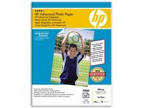 "HP Advanced Glossy Photo Paper, foto papír, lesklý, zdokonalený, bílý, 13x18cm, 5x7"", 250 g/m2, 25 ks, Q8696A, inkoustový,bez okra"