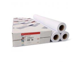 "Canon-Océ IJM009, 2"", Roll Paper Draft, matný, 36"", 3-pack, 7675B042, 75 g/m2, nepotahovaný papír, 914mmx50m, bílý, pro čárové kre"