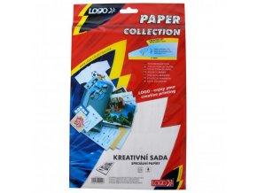 Logo papíry a fólie, kreativní sada, A4 + 10x15cm, 5 listů, pro inkoustové tiskárny, L