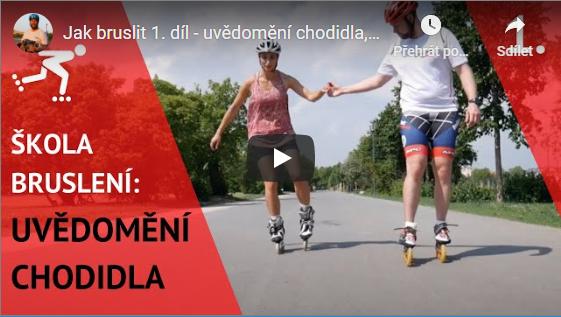 Video 1 - Uvědomění chodidel a ovládání brusle