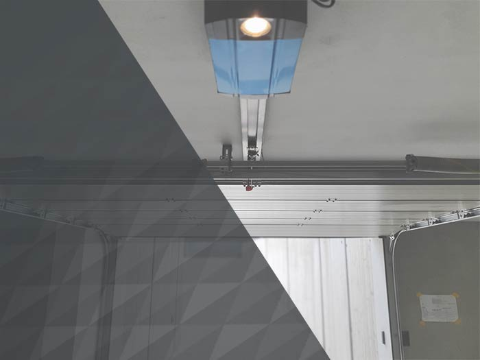 Automatické zavírání garážových vrat