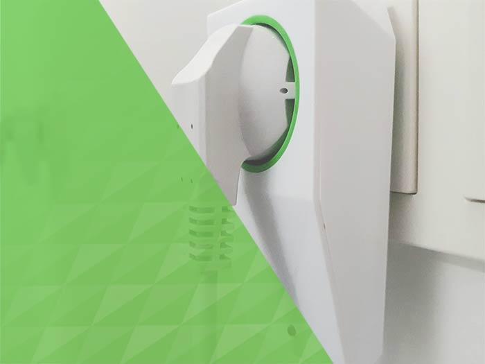 Detekce ukončení cyklu spotřebiče pomocí Loxone Smart Socket Air