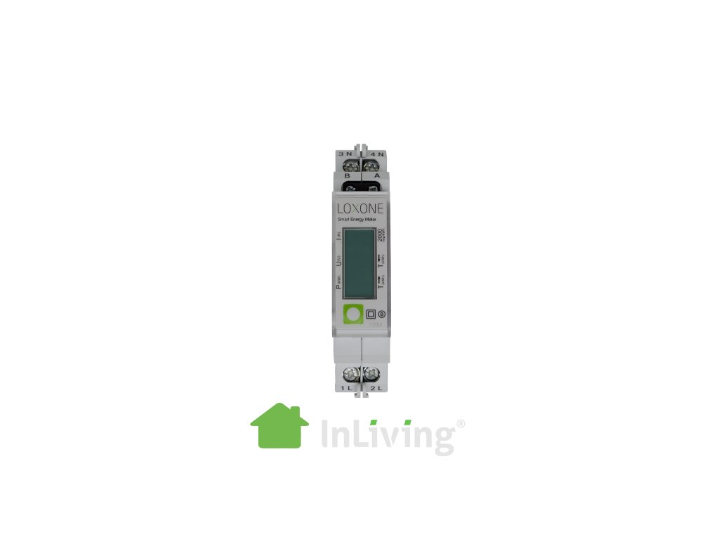 smart energy meter 1phase front free shop