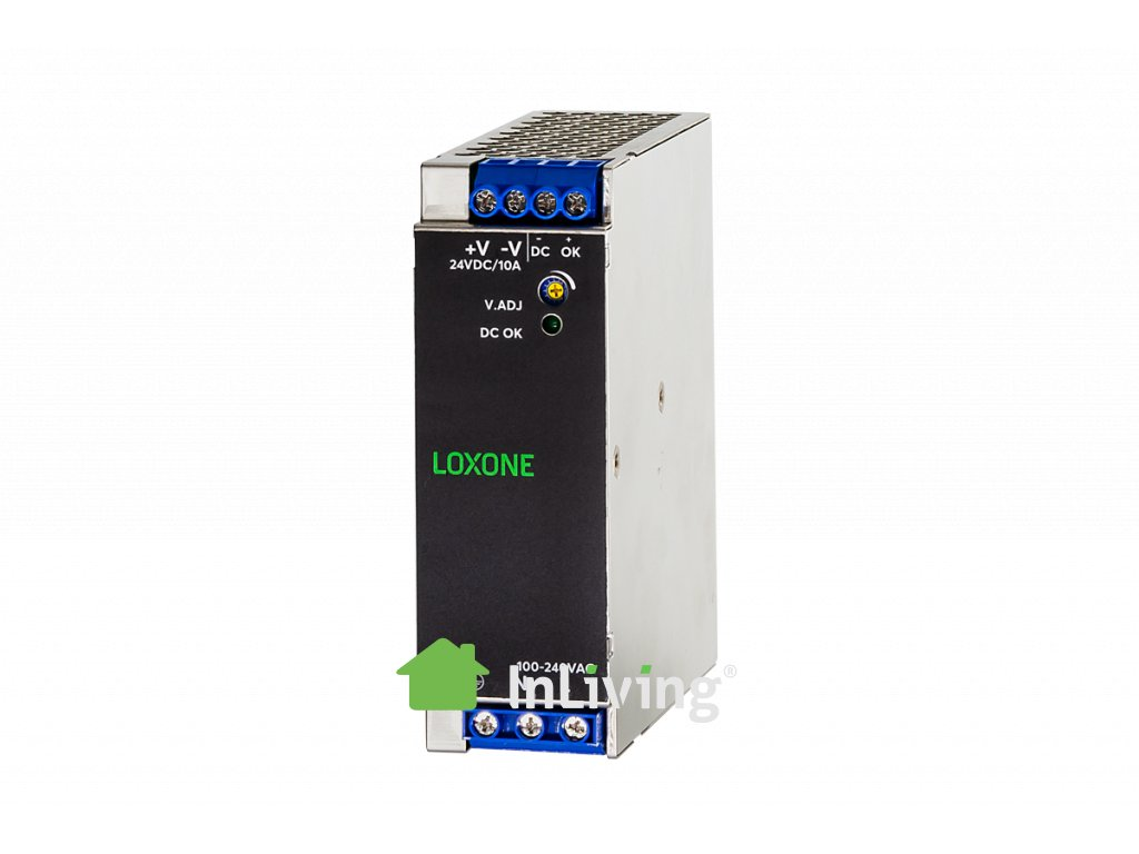 loxone power supply tdk 10a@2x