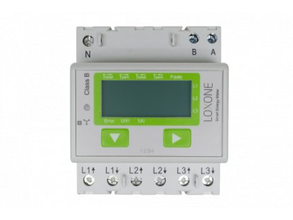 smart energy meter 3phase front free shop