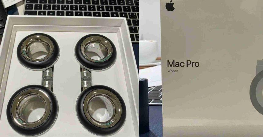 Apple показа нещо ново! Погледнете по-отблизо Apple Wheels Kit за 700 долара